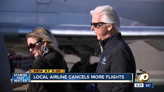 Cal Jet cancels flights from Carlsbad to Vegas, again - Video