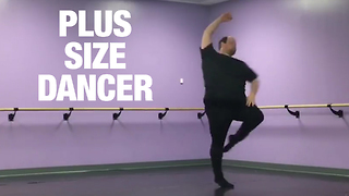 Plus-Size Dancer Promotes Positive Self-Image