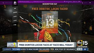 Free Tacos at Taco Bell on Tuesday! - Video