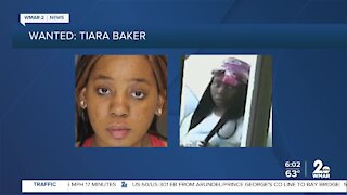 Search for woman who escaped police
