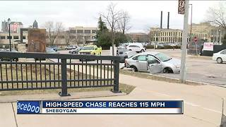 VIDEO: Woman leads Sheboygan deputies on 115 mph high speed chase - Video