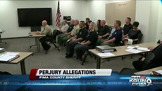 2nd union wants probe into perjury charge against Pima County sheriff