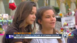 To The Point 2/20/18 Part 1: Marjory Stoneman Douglas High School students dedicate themselves to change - Video