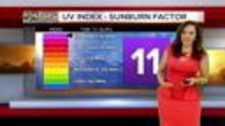 Forecast shaping up for a hot work week - Video