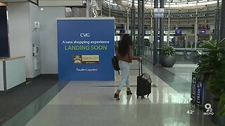 Cincinnati airport passenger traffic slows to a crawl