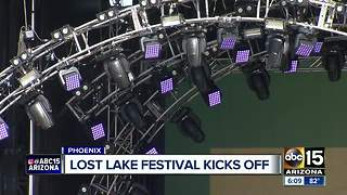 Lost Lake Festival kicks off in Phoeni - Video