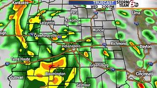 Rain chances rising - Video
