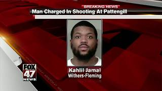 Suspect charged in Pattengill shooting - Video