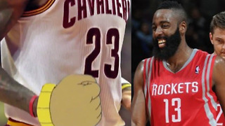 LeBron James Gets TROLLED with 'Arthur' Clips by Rockets in Pre Game Hype Video - Video