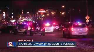 Tulsa city leaders working on community policing - Video