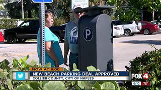 Collier County and Naples approve new beach parking deal - Video