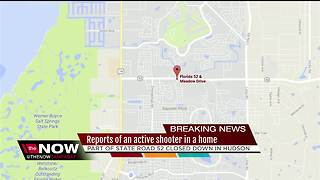Active shooter reported in a Pasco County home - Video