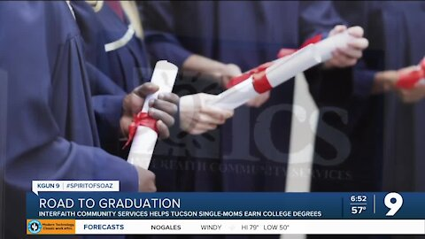 Program helps single moms in Tucson earn their college degree