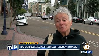 City holds first hearing on proposed scooter rules
