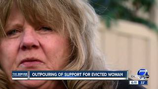 Denver7 viewers offer to help woman evicted from Littleton apartment - Video