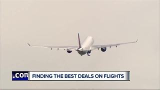 Finding the best deals on flights