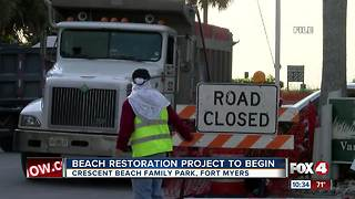 Beach Restoration Project to Begin for Crescent Beach Family Park - Video