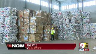 2 fires in 2 days at Rumpke recycling