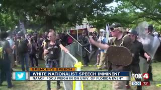 Local NAACP preps for White Nationalist Speech - Video