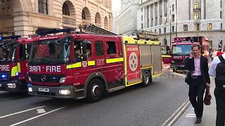 London Tube stations reopened after fire alert - Video