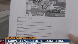 Las Vegas police introducing Vegas SafeCam - Video