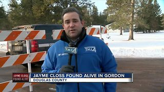 Jayme Closs found alive in Gordon - Video