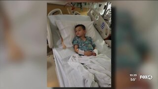 Make A Wish Foundation surprises Cape Coral boy with cancer
