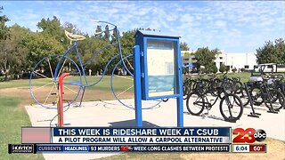 Pilot program for carpooling at CSUB