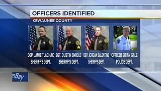 Officers involved in fatal Kewaunee County shooting identified - Video