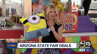 Arizona State Fair deals - Video