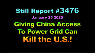 Giving China Access to Power Grid Can Kill the U.S.?, 3476