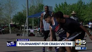 Basketball tournament held for Valley crash victim - Video