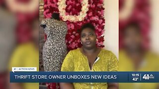 Thrift store owner unboxes new ideas