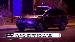 Michigan expert talks about autonomous vehicle safety after deadly Uber crash - Video