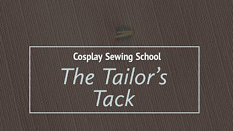 Learn the Tailor's Tack | Beginner Sewing