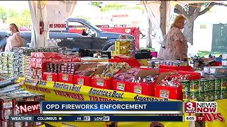 OPD steps up firework enforcement - Video