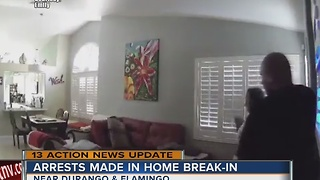 2 arrested in ransacking of home while owner watches abroad - Video