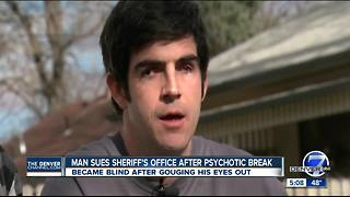 Man sues Boulder County Sheriff's Office after psychotic break - Video