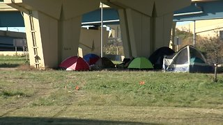 Milwaukee County tring to get homeless indoors as tent pop up around downtown