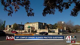 Apartment complex owners' business practices questioned