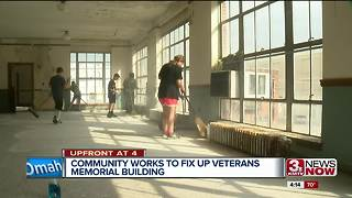 Community works to fix up Veterans Memorial Building - Video