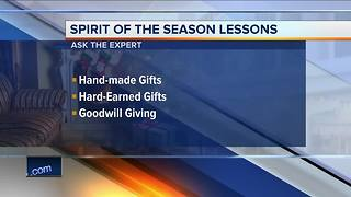 Ask the Expert: Giving rather than receiving - Video