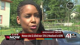KCPD gives update on woman shot and killed in KCMO - Video