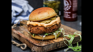 Fried buttermilk chicken sandwich recipe