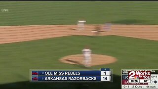 Arkansas Advances to 10th College World Series