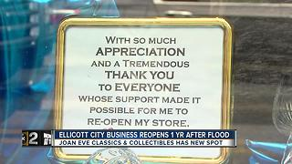 Ellicott City business reopens - Video