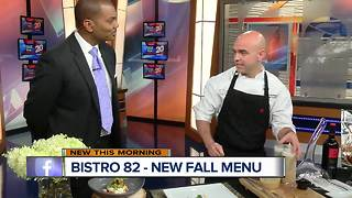 Bistro 82 rolls out new fall menu - Video