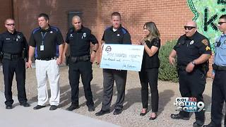 Amphitheater district gets $3,000 check after multiple schools vandalized - Video