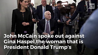 One Last Betrayal: McCain Attacks Haspel for Doing Her Best to Stop Terrorists - Video