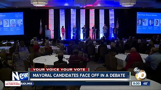 Candidates for San Diego Mayor face off in debate